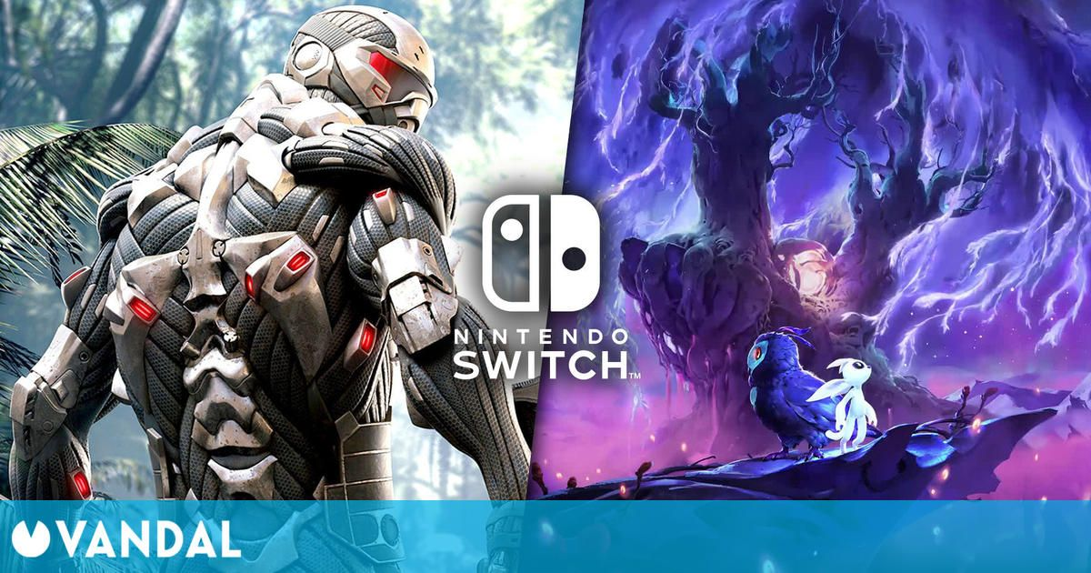 Ofertas Switch: Ori and the Will of the Wisps, Crysis Remastered, Terraria y más