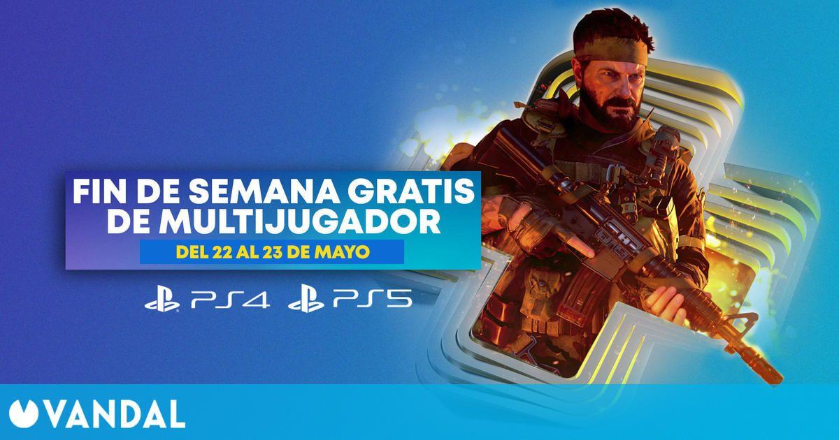 Juego online PS Plus gratis este fin de semana en PS4 y PS5