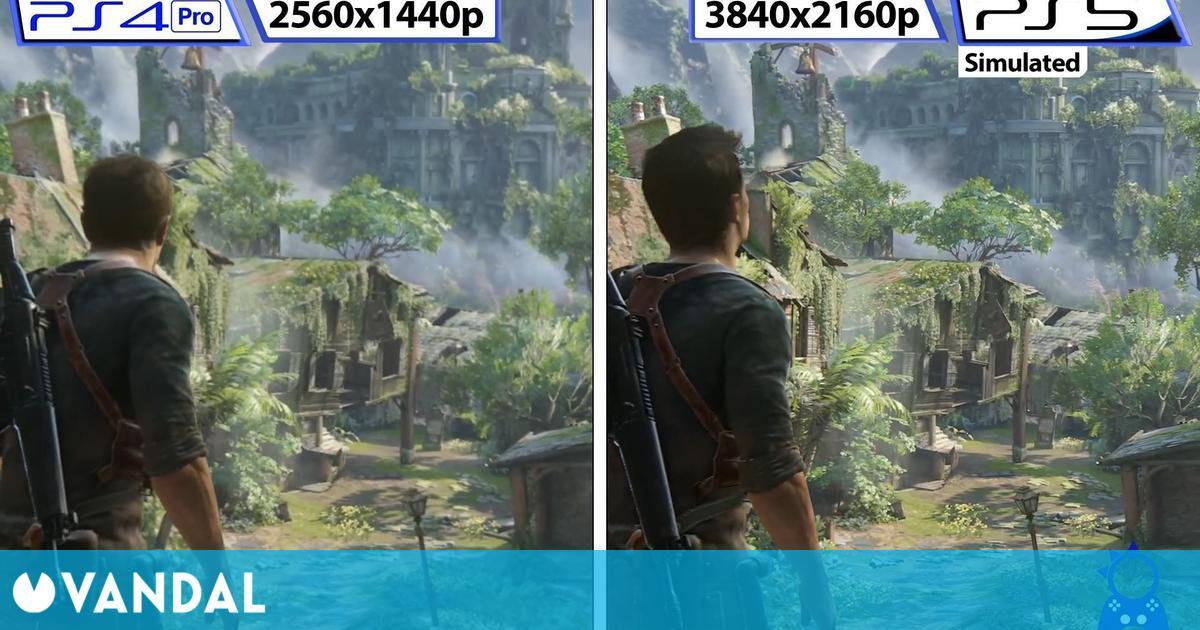 Recrean cómo luciría Uncharted 4: El Desenlace del Ladrón con mejoras en PS5