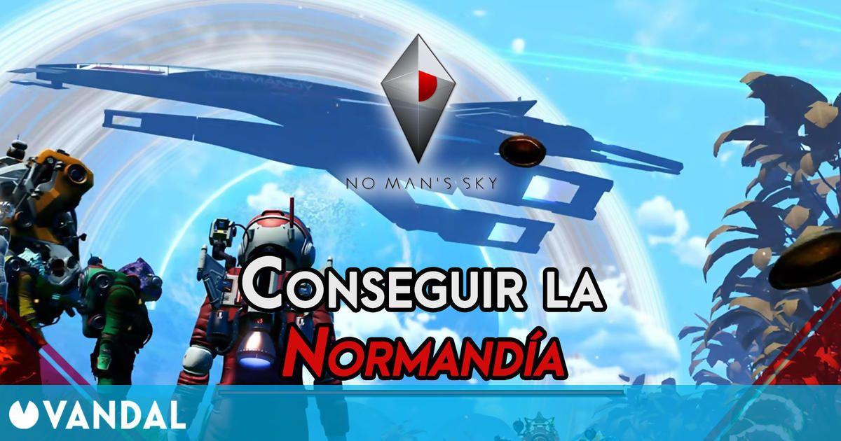 No Man's Sky: ¿Cómo conseguir gratis la nave Normandía de Mass Effect?