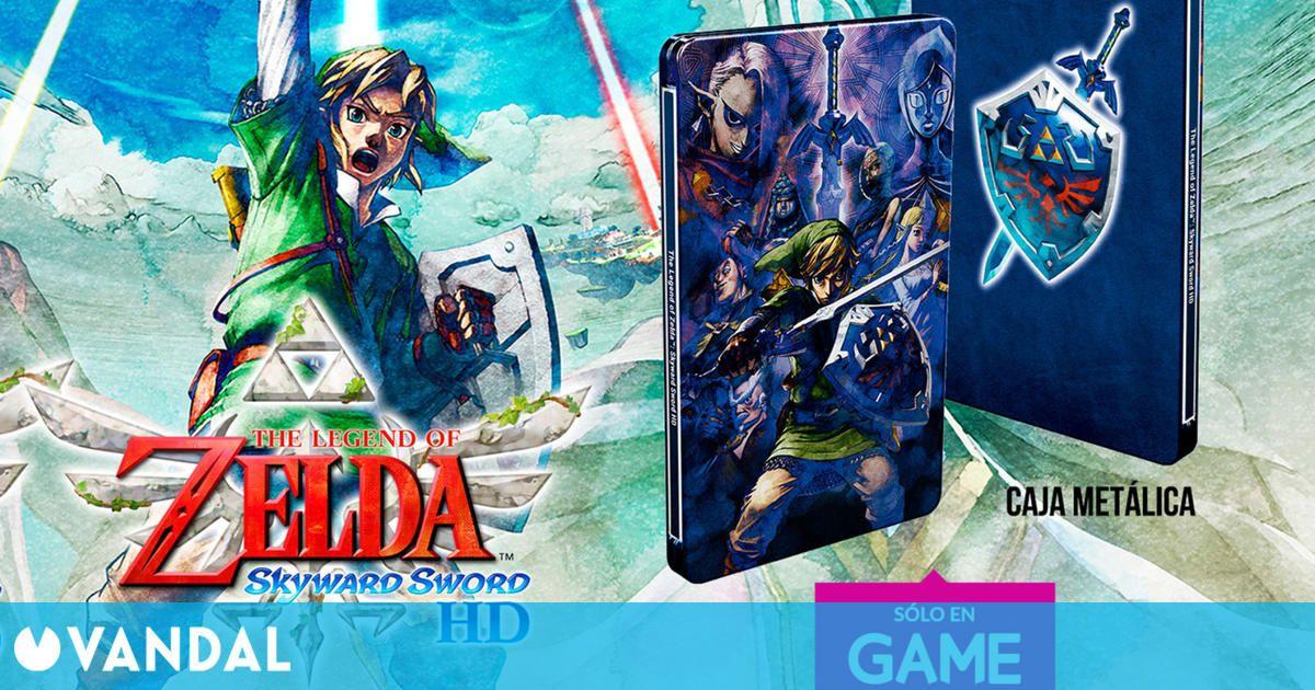 Ya se puede reservar en GAME un steelbook exclusivo de Zelda: Skyward Sword HD