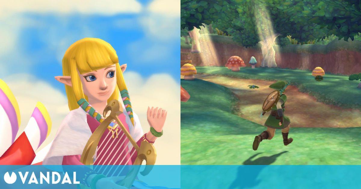 Nuevas imágenes y gameplay de The Legend of Zelda: Skyward Sword HD
