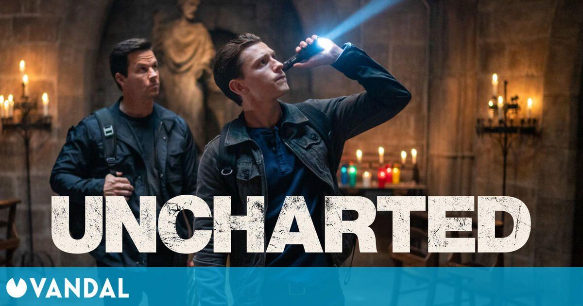 La película de Uncharted se muestra en una nueva imagen con Tom Holland y Mark Wahlberg