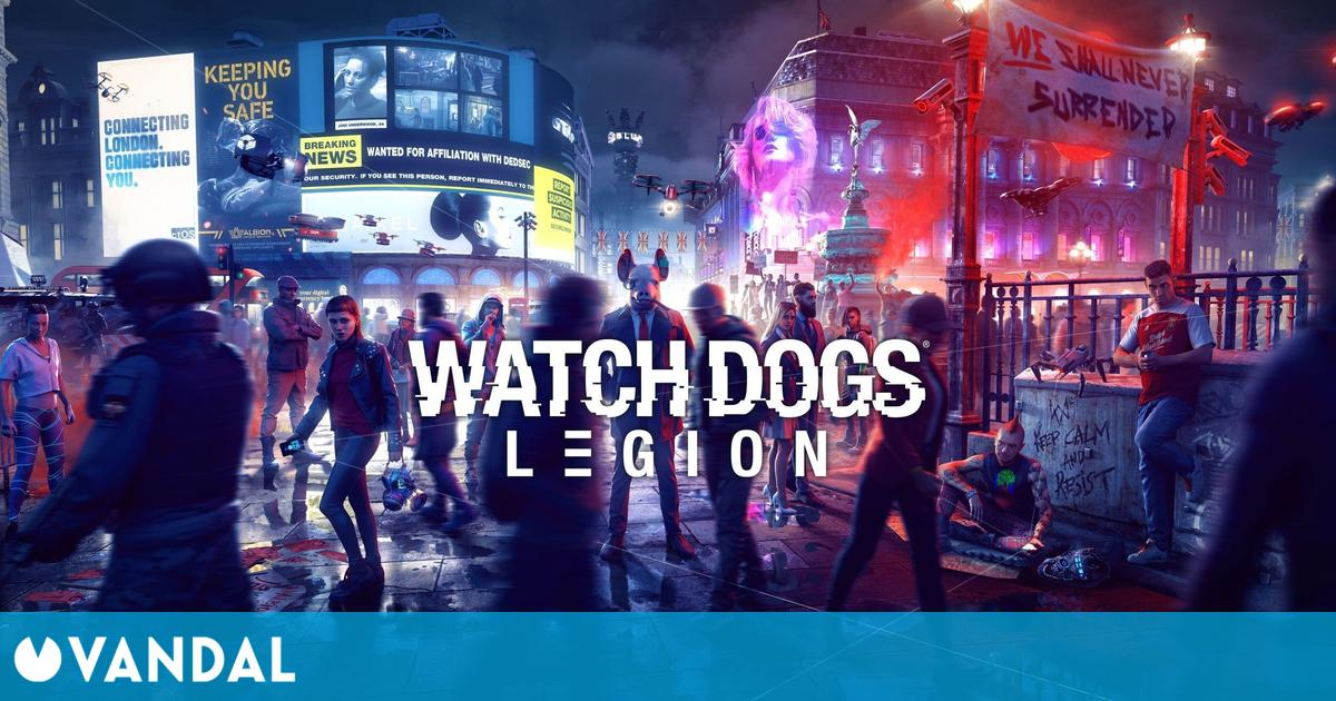 Watch Dogs Legion recibirá el modo de 60 fps en PS5 y Xbox Series X/S el 1 de junio