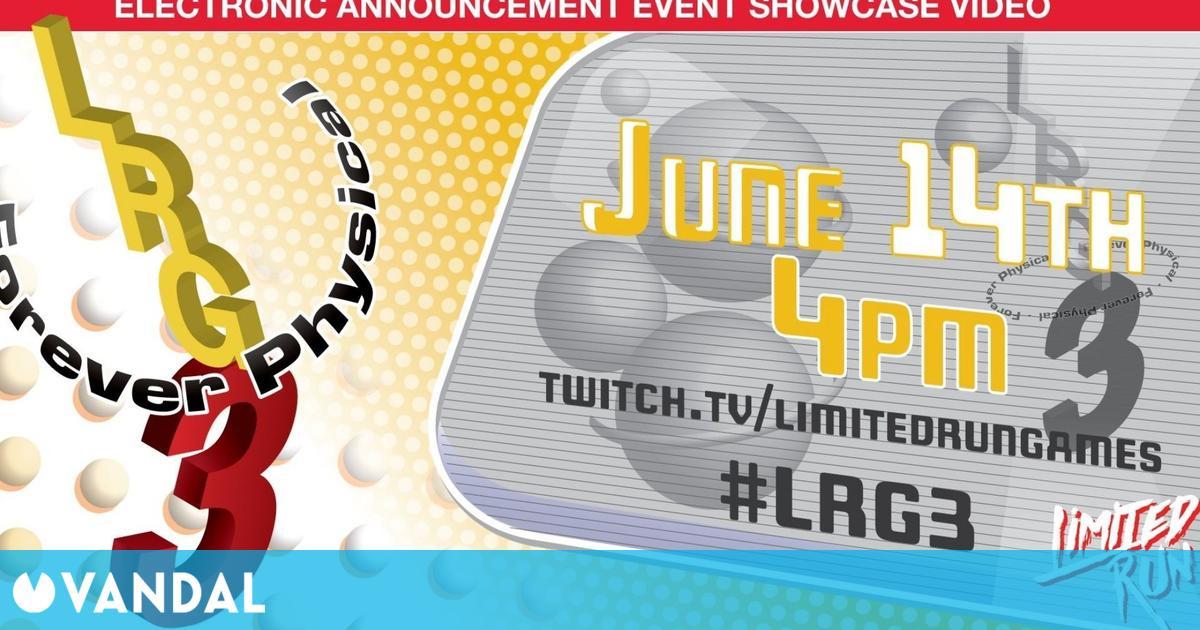 Limited Run Games tendrá conferencia del E3: anunciará más de 25 juegos en físico