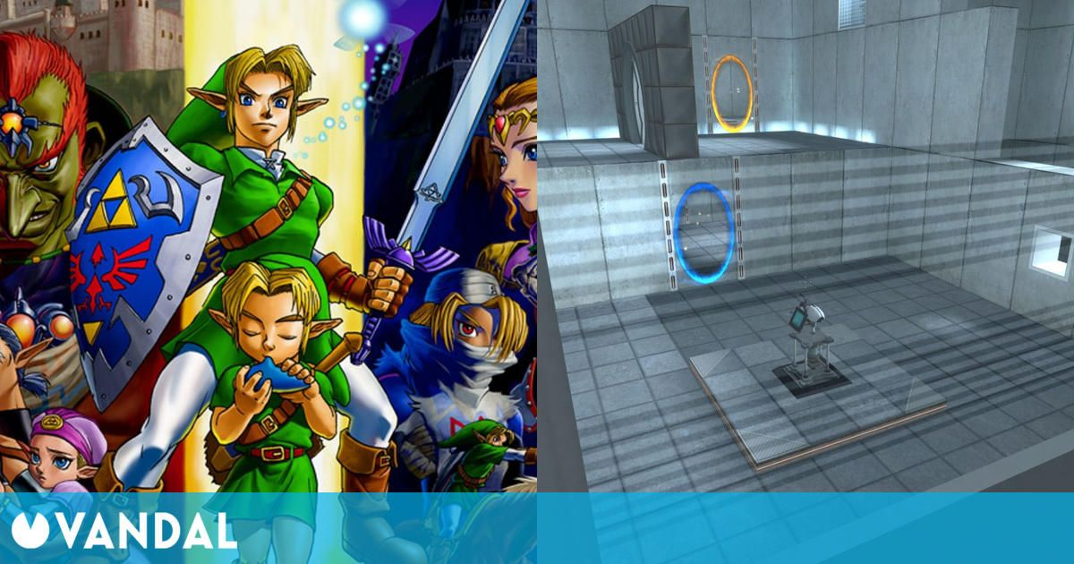 Zelda: Ocarina of Time iba a tener portales al estilo del Portal de Valve