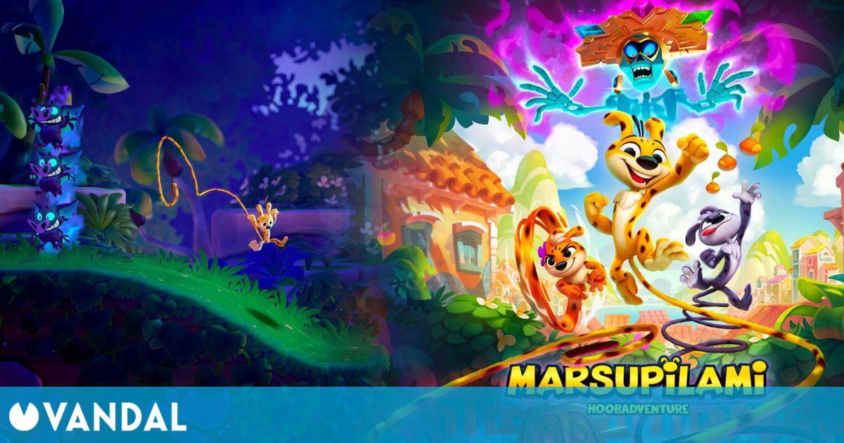 Así es Marsupilami: Hoobadventure, que llegará el 16 noviembre a PS4, Xbox One, Switch y PC
