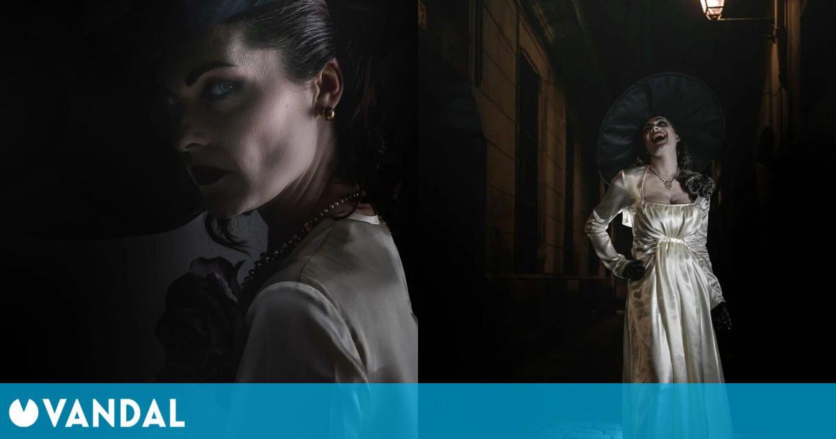 Lady Dimitrescu es encarnada por la modelo que prestó su cara en Resident Evil 8: Village