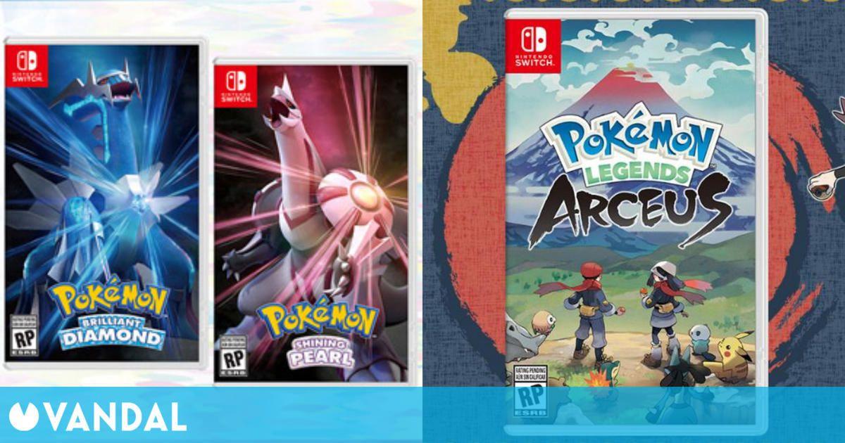 Leyendas Pokémon Arceus y Pokémon Diamante Brillante y Perla Reluciente ya tienen fecha
