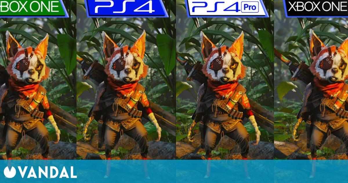 Así es Biomutant comparado en PS4, Xbox One, PS4 Pro y Xbox One X