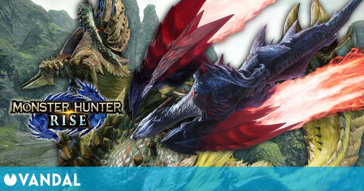 Monster Hunter Rise se actualizará mañana con más monstruos, nuevo final y más