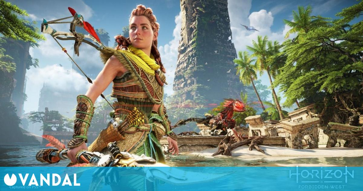 Horizon II: Forbidden West muestra su primer y espectacular gameplay en PS5