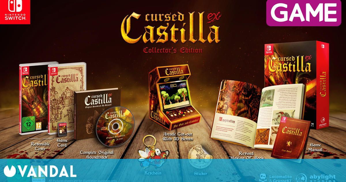 GAME detalla la Edición Coleccionista de Maldita Castilla para Switch