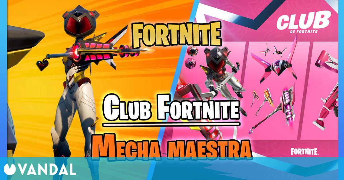 Club de Fortnite en junio 2021: Skin de Mecha maestra, novedades y ventajas