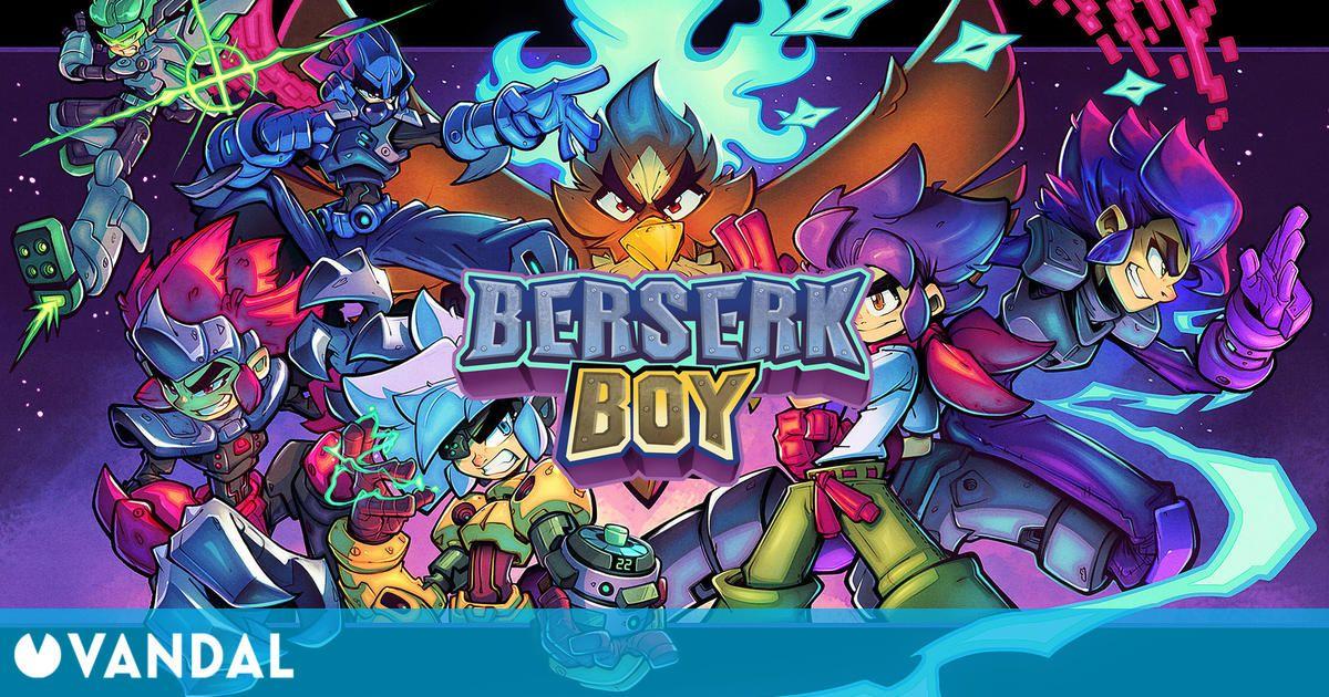 Anunciado Berserk Boy, un plataformas de acción clásico en 2D inspirado en Mega Man