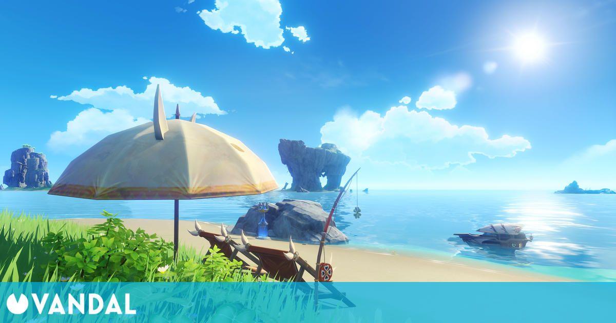 Genshin Impact recibirá '¡Verano, islas, aventuras!', su versión 1.6, el próximo 9 de junio