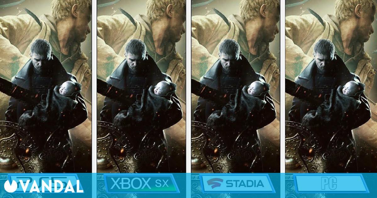 Comparan los gráficos de la demo de Resident Evil 8: Village en PC, PS5, XSX y Stadia
