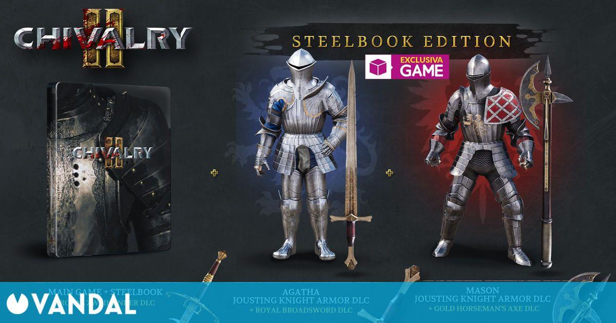 Chivalry 2: Steelbook Edition ya disponible en exclusiva en GAME con contenido extra