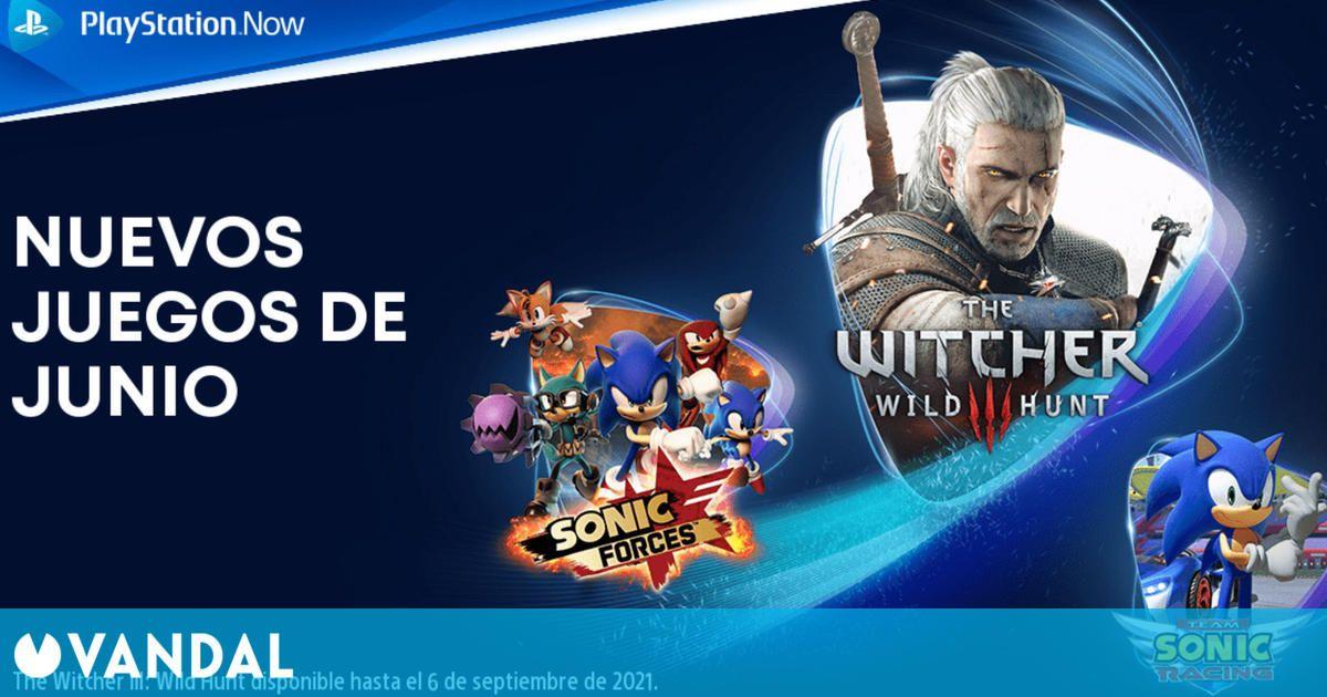 Juegos de PS Now en junio: The Witcher 3 GOTY, Sonic Forces, Slay The Spire y cuatro más