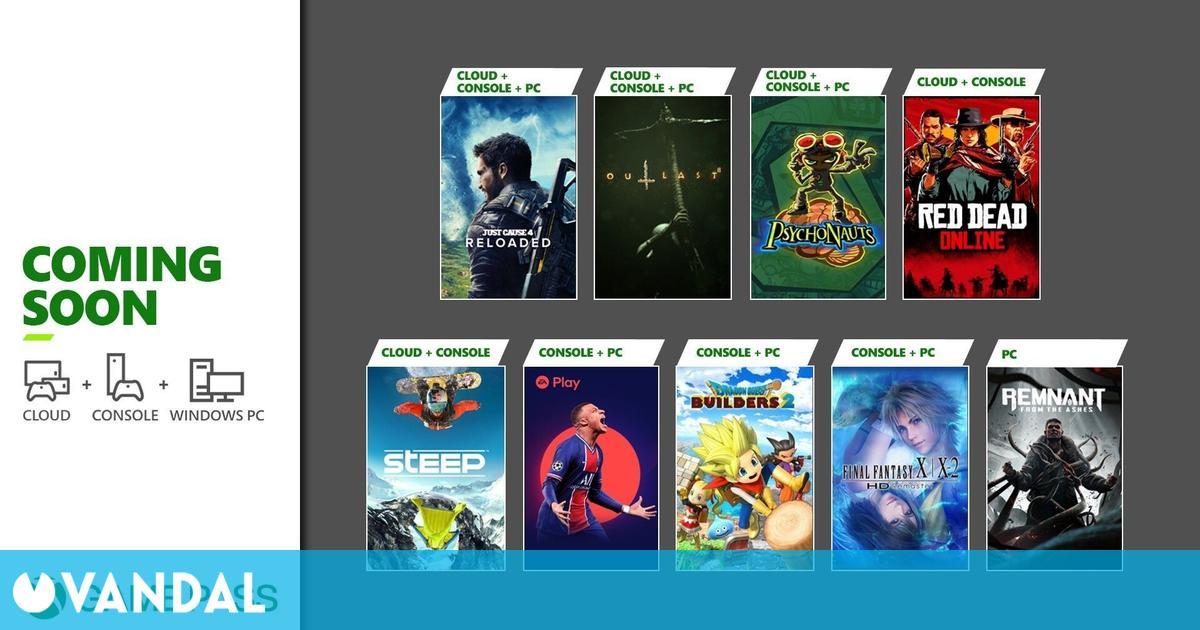 Xbox Game Pass recibe este mes Red Dead Online, FIFA 21, Final Fantasy X/X-2 y más