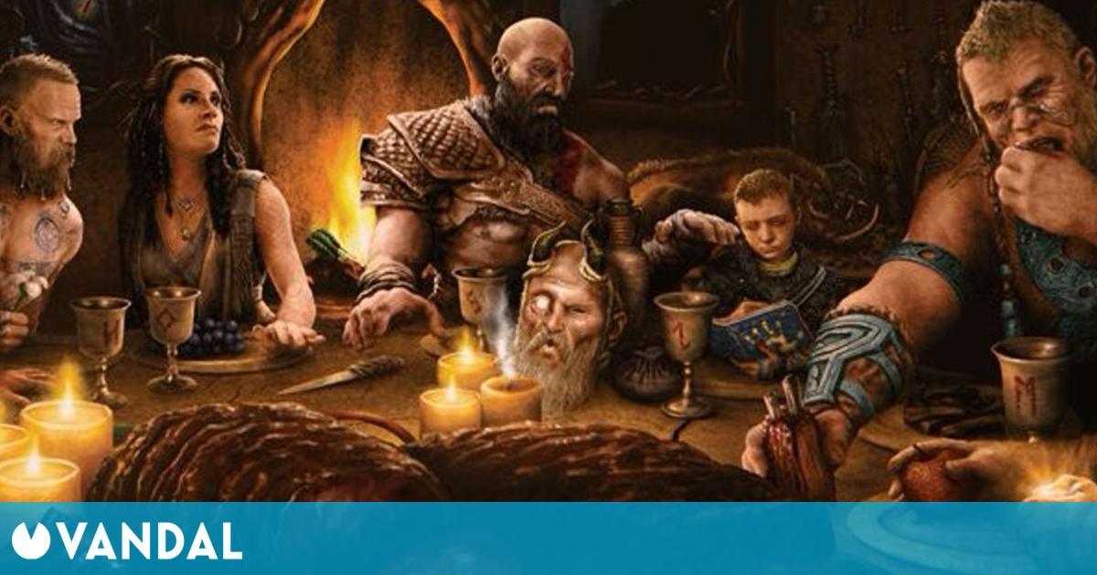God of War Ragnarok: Cory Barlog publica una ilustración que esconde algún misterio