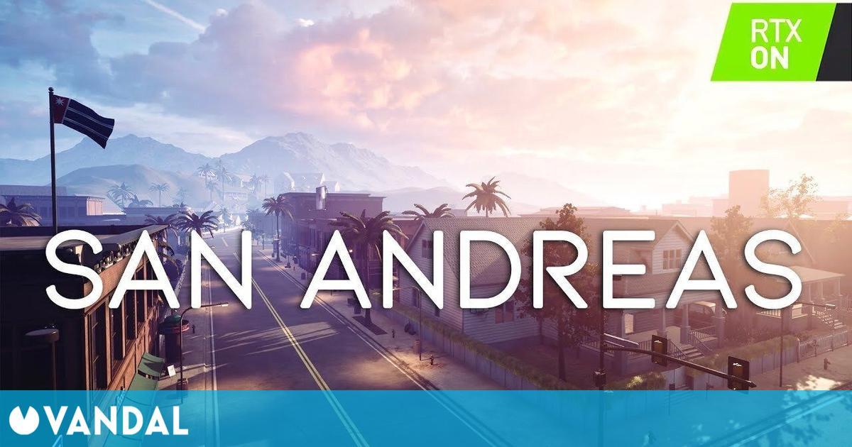 Hace un 'remake' de la intro de GTA San Andreas utilizando Unreal Engine 4