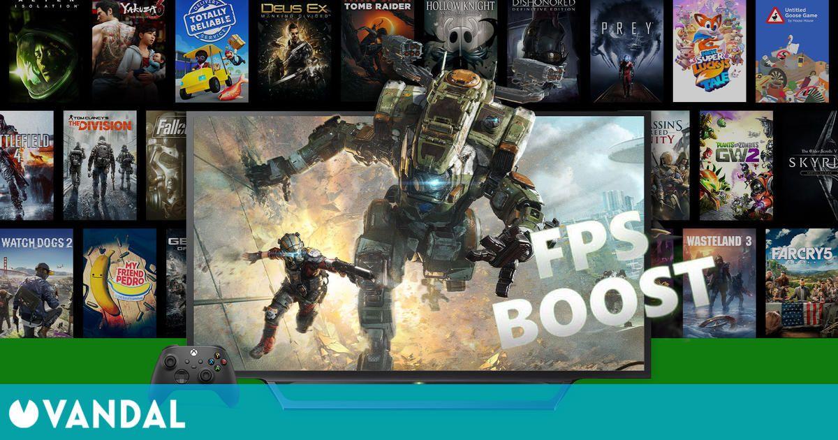 Más de 70 nuevos juegos reciben compatibilidad con FPS Boost en Xbox Series X/S