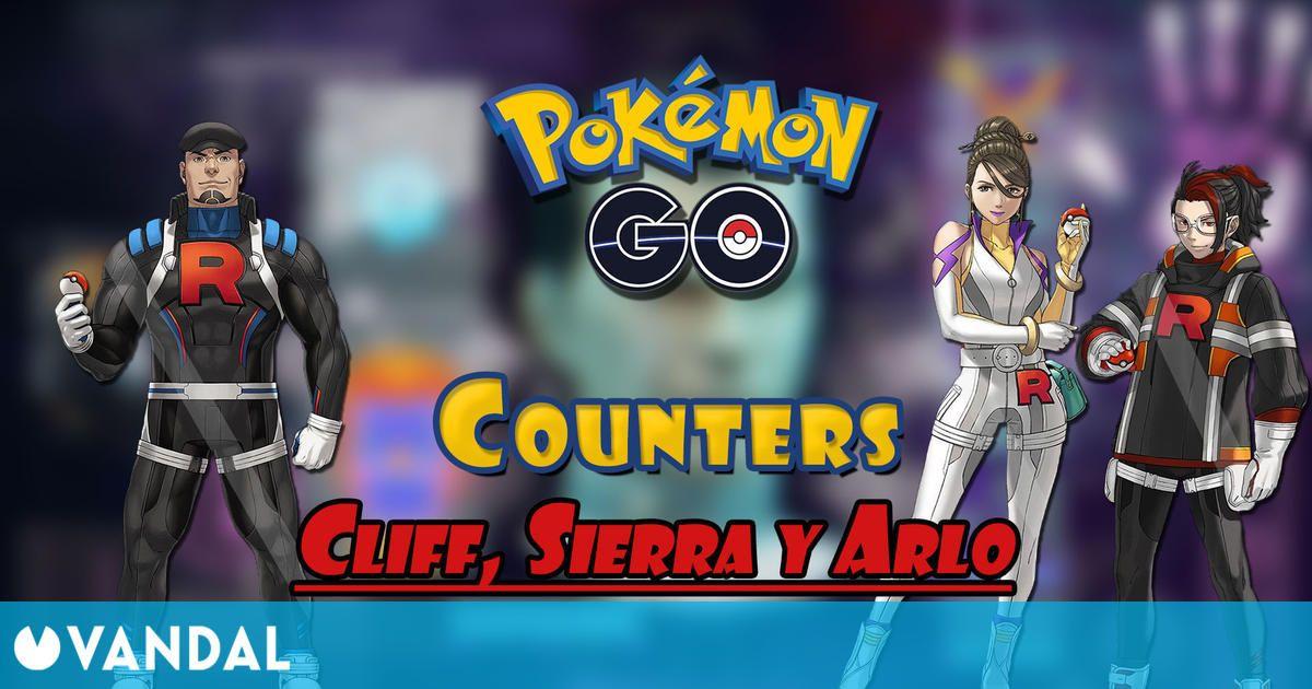 Pokémon GO: Cómo vencer a Cliff, Sierra y Arlo – Mejores counters (mayo 2021)