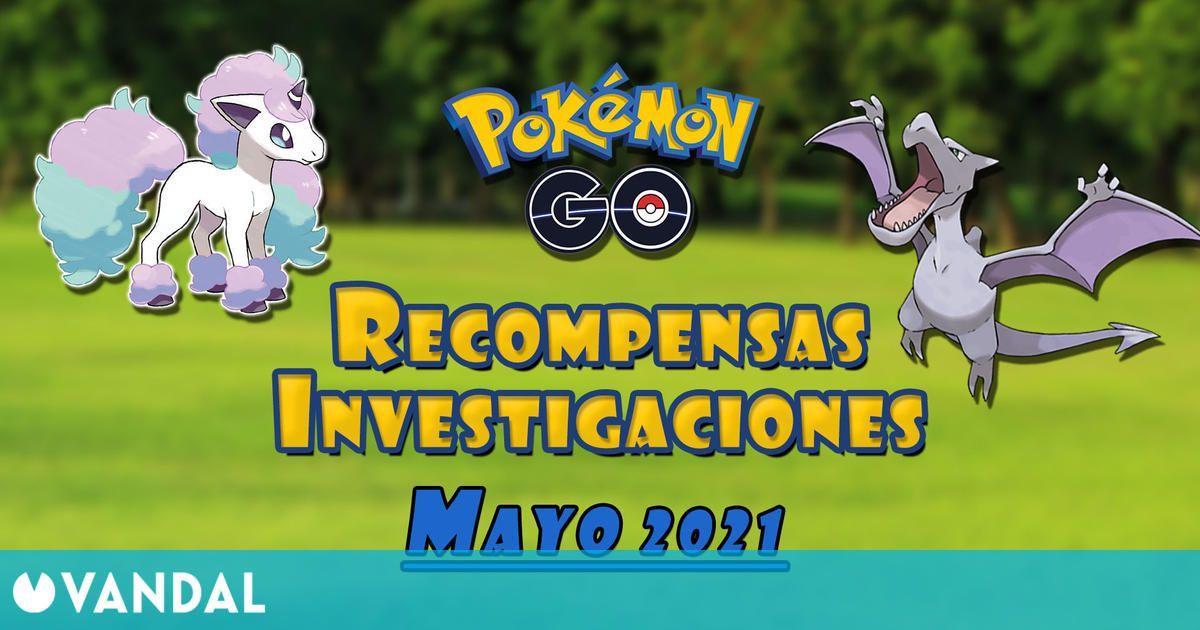 Pokémon GO: Todas las tareas, recompensas y shinys (mayo 2021)