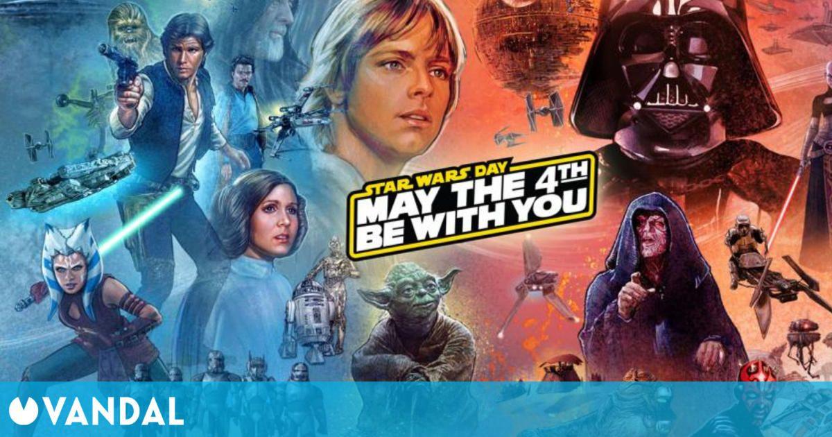 GOG.com celebra el 4 de mayo con ofertas en juegos clásicos de Star Wars
