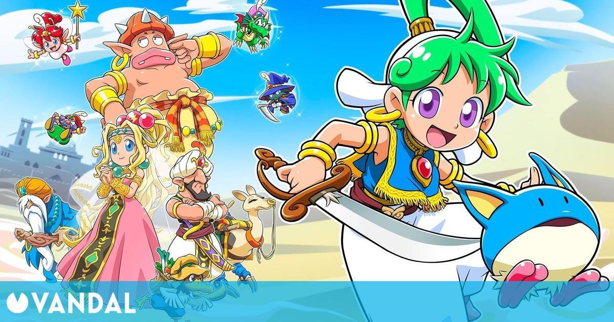 Wonder Boy: Asha in Monster World llega el 28 de mayo a PS4 y Switch; Para PC el 29 de junio