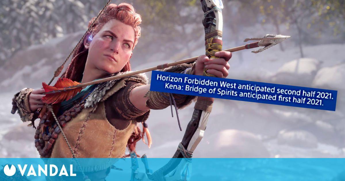 Horizon 2 Forbidden West: Un vídeo oficial fija su lanzamiento para la segunda mitad de 2021