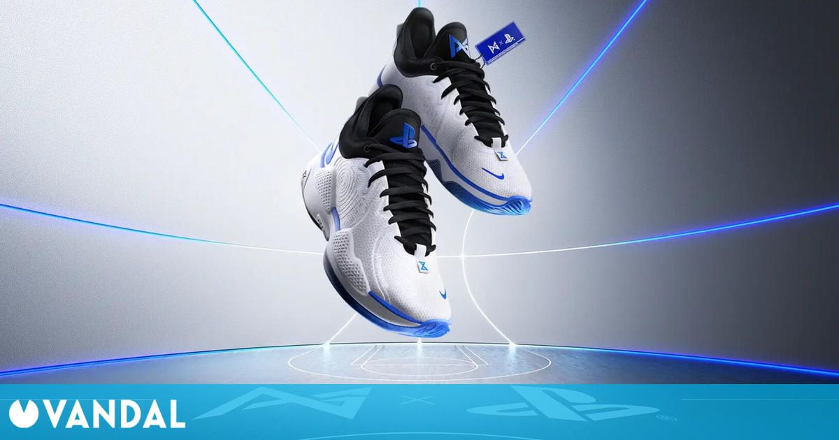 Las zapatillas de Nike inspiradas en PS5 se muestran en un nuevo vídeo promocional