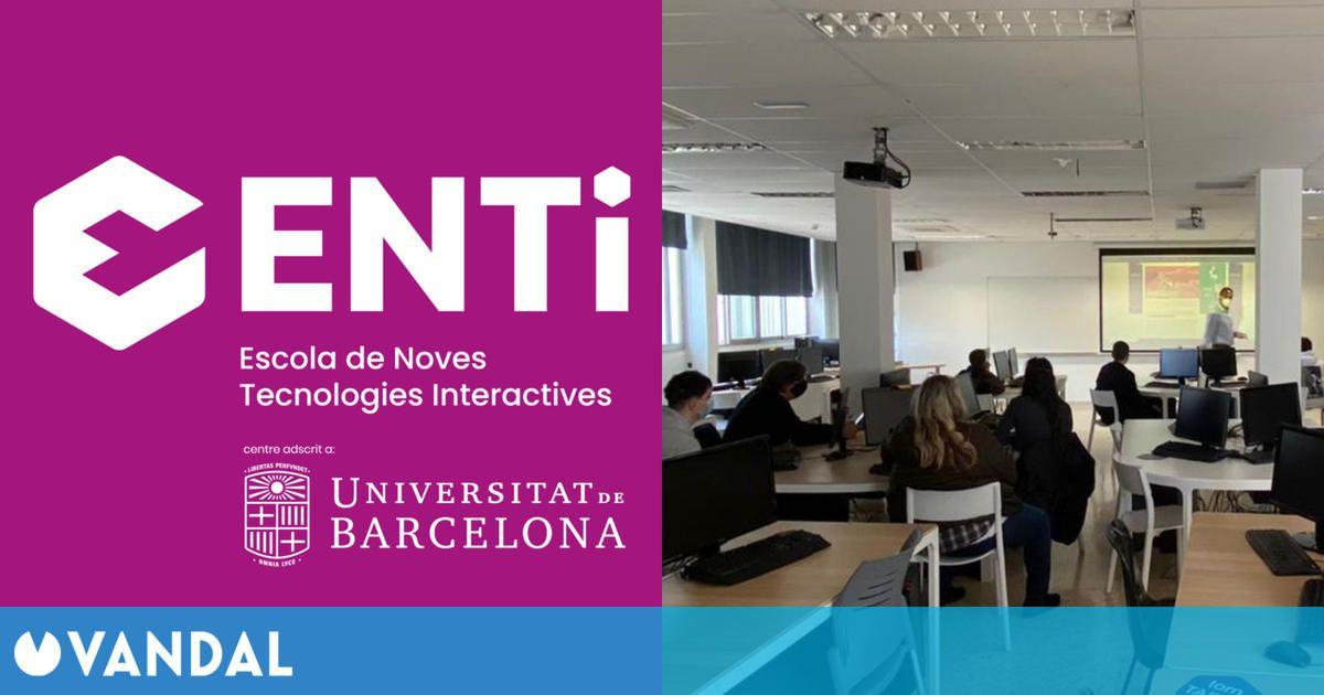 La formación especializada en ENTI-UB, puerta de entrada al sector de los videojuegos