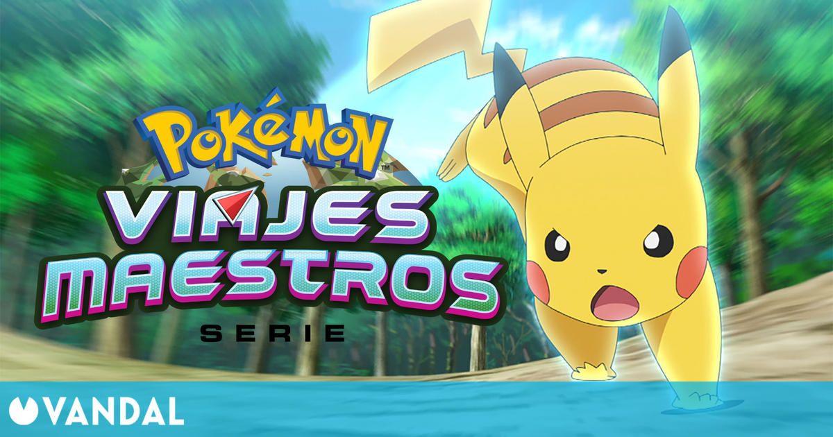 La serie Pokémon: Viajes Maestros estrenará su nueva temporada en 2021