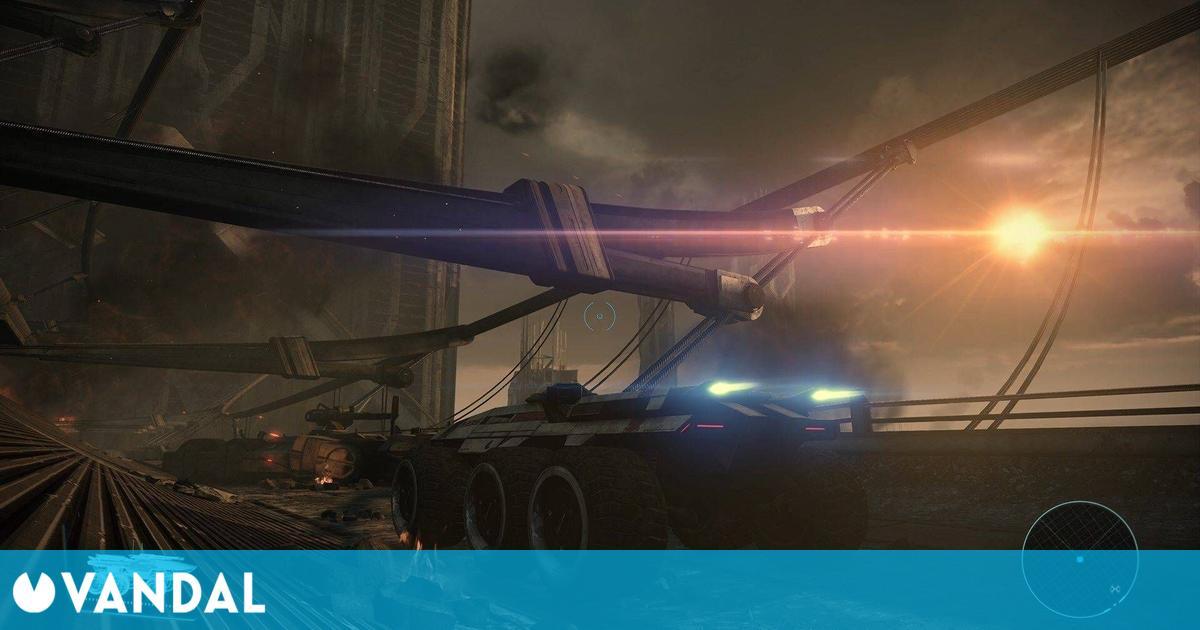 Mass Effect: Legendary Edition permitirá controlar el Mako al estilo clásico