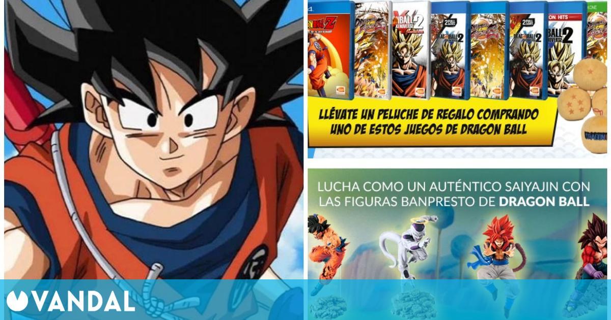 GAME celebra el Día de Goku con ofertas en juegos y merchandising de Dragon Ball