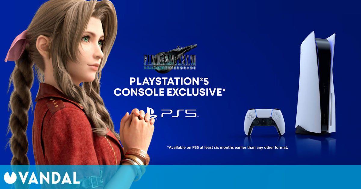 Final Fantasy 7 Remake Intergrade sólo será exclusivo de PS5 durante seis meses