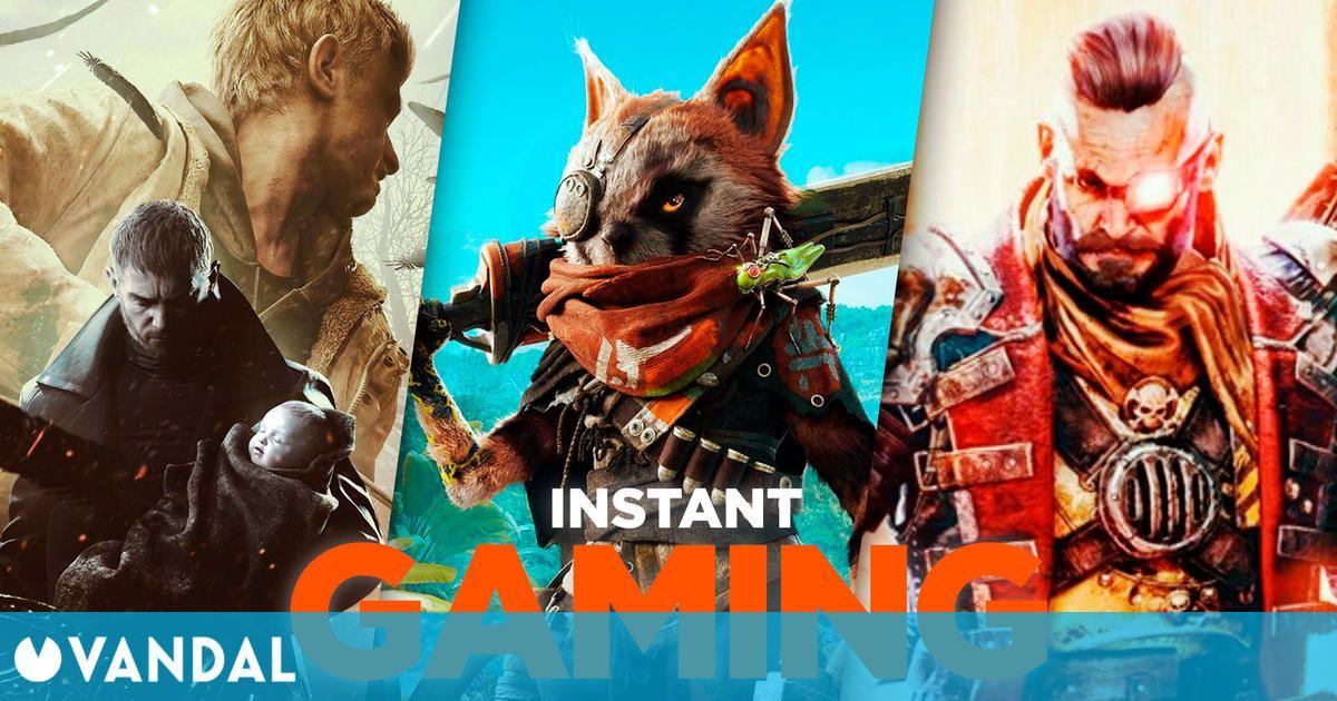 Las 10 mejores ofertas de juegos para PC en Instant Gaming el segundo fin de semana de mayo