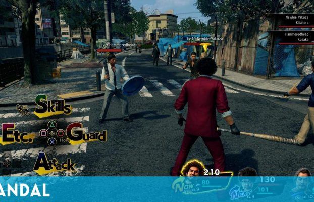 Yakuza será una saga de RPG por turnos: Judgment coge el testigo de la jugabilidad clásica