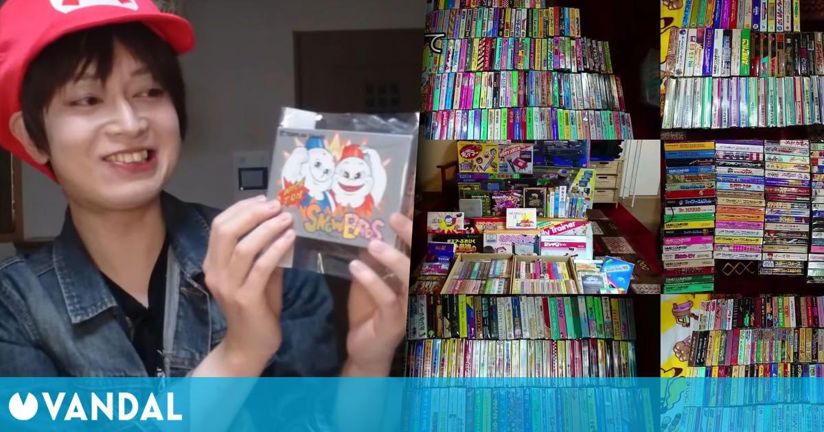 Consigue coleccionar los 1053 juegos de Famicom después de 20 años