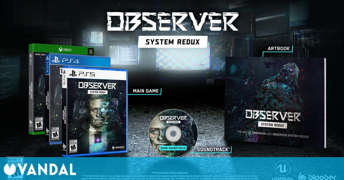 Observer System Redux llegará a PS4 y Xbox One el 16 de julio con una edición física