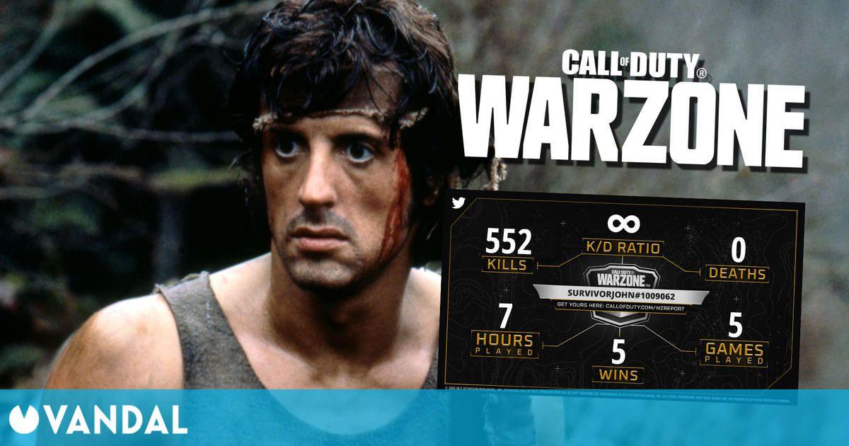 Call of Duty Warzone: John Rambo podría aparecer en el juego, según rumores