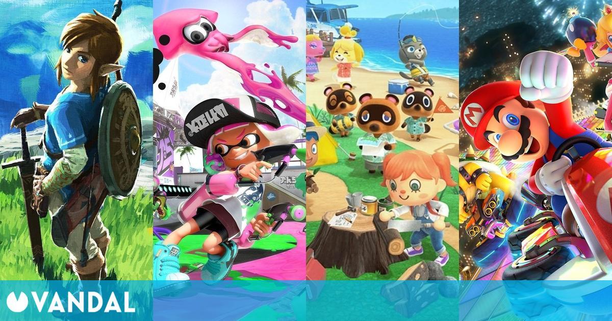Nintendo Switch cuenta con 36 juegos que han vendido más de un millón de copias