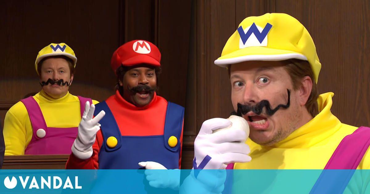 Elon Musk interpreta a Wario en un sketch sobre el asesinato de Mario