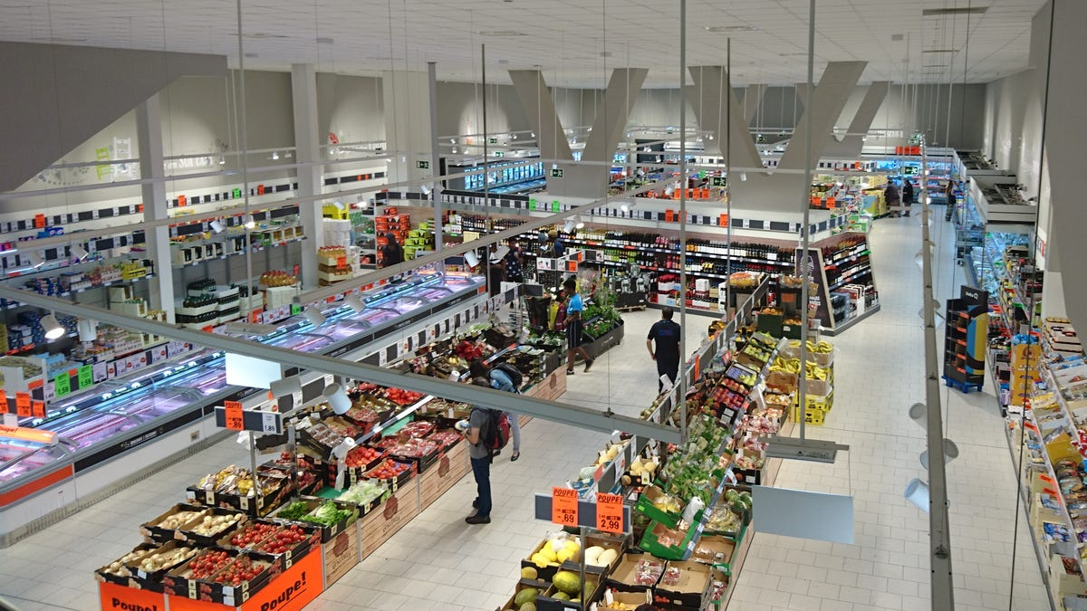 Por qué los supermercados no tienen ventanas exteriores