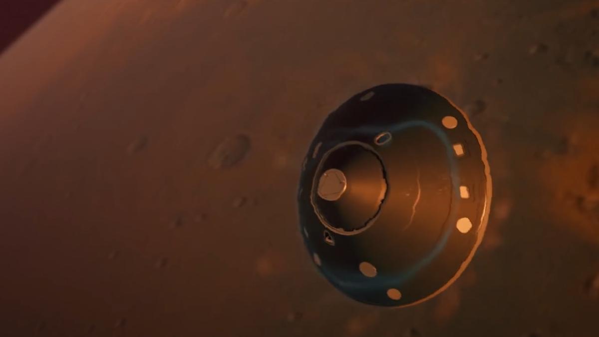 La misión Tianwen-1 se prepara para aterrizar su rover sobre Marte