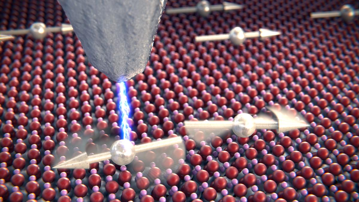 Físicos consiguen grabar a dos átomos «hablando» entre sí
