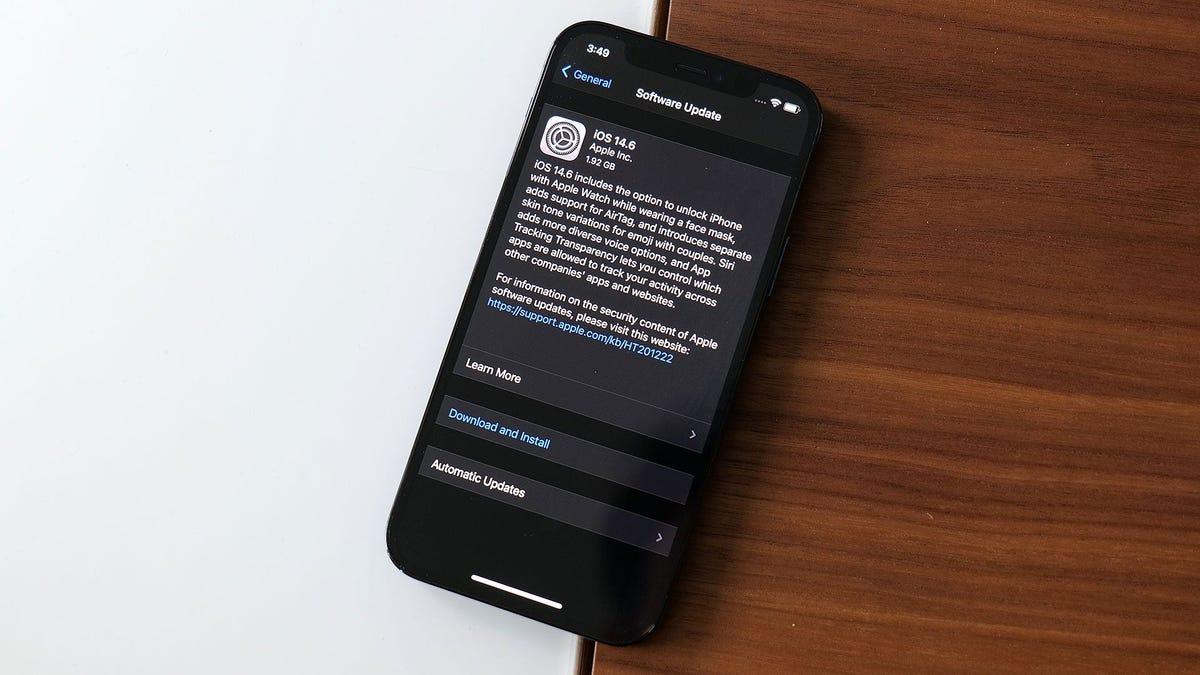 Actualiza tu iPhone ahora para solucionar problemas de seguridad