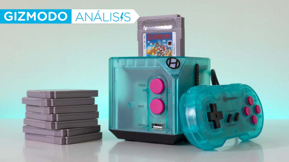 La Retron Sq es una Game Boy de sobremesa con HDMI